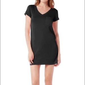Michael Stars V-Neck Jersey Mini Dress